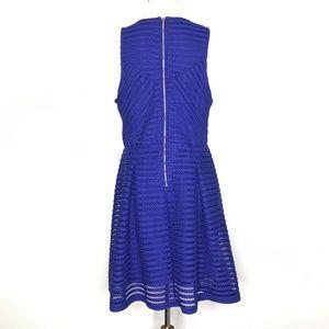 Mossimo Supply Co. Dresses - Mossimo Blue Scoop Neck Sleeveless Dress A030511